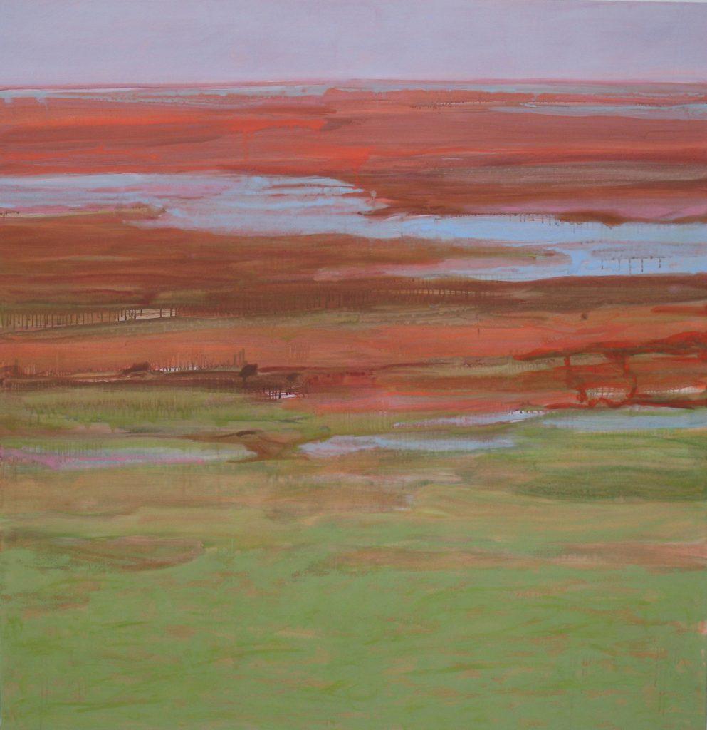 2007 Juli #2, 155 x 150 cm