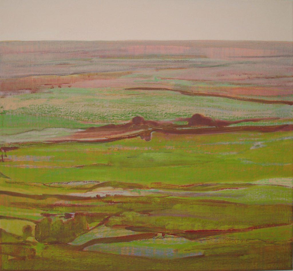 2008 Februar #3, 55 x 60 cm