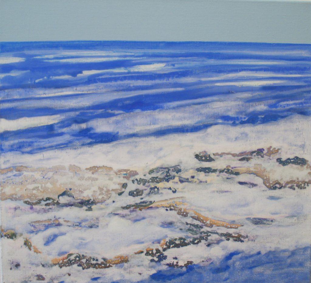 2008 Februar #4, 55 x 60 cm